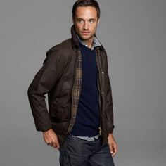 Crew for the Barbour® Sylkoil Bedale jacket for Men. Find the best selection of Men Outerwear available in-stores and online. Barbour, J Crew, Bomber Jacket, Sweaters, Jackets, Shirts, Men, Shopping, Fashion