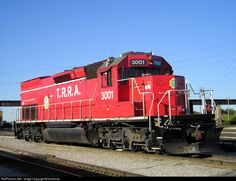 RailPictures.Net Photo: TRRA 3001 Terminal Railroad Association of St. Louis EMD SD40T-2 at Venice, Illinois by landrover