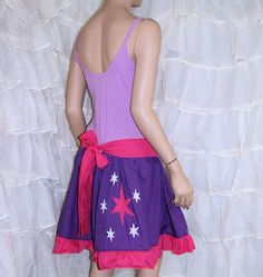 My Little Pony Twilight Sparkle Summer Dress idea for Halloween costume could make child version?