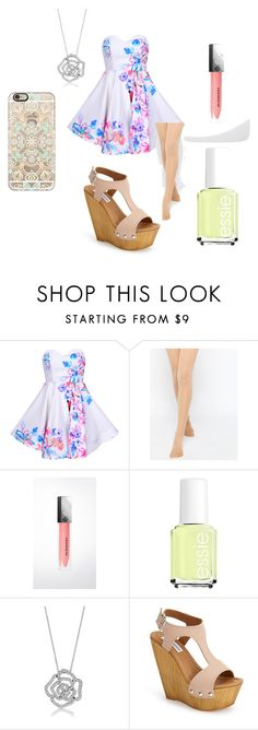 Jump In To Spring by aquata11 on Polyvore featuring ASOS, Steve Madden, BERRICLE, Casetify, Burberry and Essie