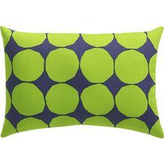 Marimekko Pienet Kivet outdoor pillows | Crate and Barrel