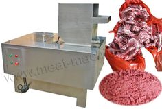 Link: http://meat-machinery.com/meat-processing-machine/bone-processing-machinery/bone-crushing-machine.html Email: info@meat-machinery.com Bone Crushing Machine is the newly-developed grinding equipment for crushing various animal bones. The final fineness can be 3-5mm.