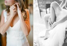 love the black and white shoe shot on the right. it's sexy and all brides want to feel that way on their wedding day.