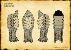 Ghoul Armor Boots V2 by Uratz-Studios on DeviantArt