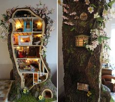 Photos via Mad's Mouse House The latest in eye-popping miniatures comes from Maddie Brindley, a hobbyist in Chesterfield, England who built from nothing the...