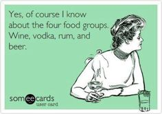 What's your favorite food group? #bartendingschool #funny #alcohol  For more visit www.bartendingschool4free.com