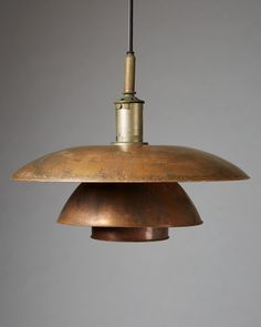 Ceiling lamp 5/5 designed by Poul Henningsen for Louise Poulsen, — Modernity