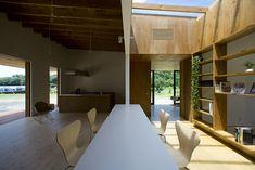studio synapse: house in midori - ori no ie