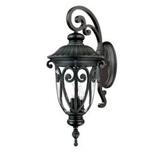 """Acclaim Lighting 2122 Naples 3 Light 27.5"""" Height Outdoor Wall Sconce"""