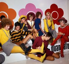 The V&A Taps Dame Mary Quant for 2019 Retrospective 60s Fashion Trends, 60s And 70s Fashion, Mod Fashion, Vintage Fashion, British Fashion, Fashion Photo, Mary Quant, Swinging London, Dame Mary