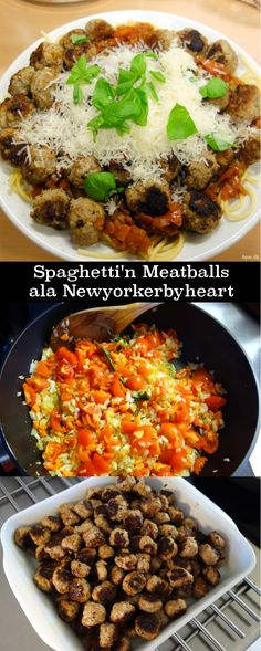 Spaghetti'n Meatballs ala Newyorkerbyheart