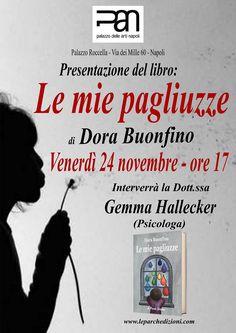 """Le Parche Edizioni: Lucia Cassini presenta """"Le mie pagliuzze"""" al PAN: l'abuso sui minori tra cronaca e narrativa"""