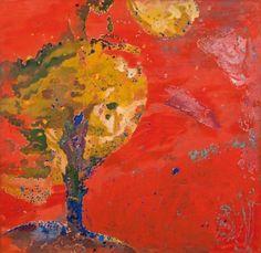 Max Weiler, Baum, 1972, Eitempera auf Leinwand; 200 × 205 cm, EUR 350.000-700.000