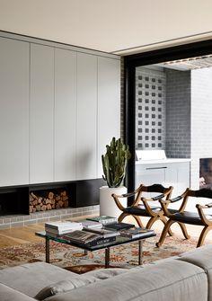 Brighton Houses, Interior Architecture, Interior Design, Interior Styling, Timber Flooring, Open Plan Kitchen, Open Plan Living, Contemporary Interior, Soft Furnishings