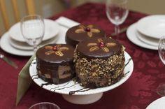 Petite cakes made with whipped cream, Bailey's Irish Cream & sweet chocolate.