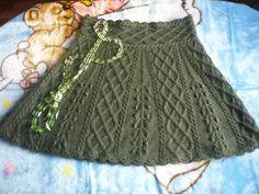 юбочка для девочки. Комментарии : LiveInternet - Российский Сервис Онлайн-Дневников Knit Skirt, Knit Dress, Dress Skirt, Knitting Stitches, Hand Knitting, Knitting Patterns, Rubrics, Knitwear, Knit Crochet