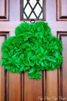 St.Patricks Day Wreath- Top This Top That