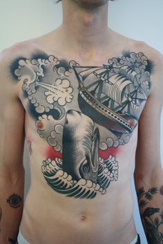 Amazing chest piece