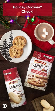 Planning to throw a holiday gathering at home? Stock on everyone's favorite treat – cookies! Shop Milano & Farmhouse cookies at Target. Banana Pudding Recipes, Carrot Recipes, Soup Recipes, Chicken Recipes, Cooking Recipes, Manhattan Recipe, Macaroni Cheese Recipes, Recipes With Whipping Cream, Eggnog Recipe