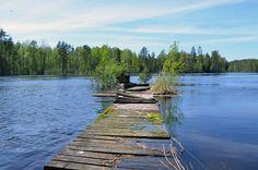 Laituri, Heinävesi, Etelä-Savo, 2015