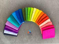 Blue Green, Purple, Yellow, One Fish Two Fish, Rainbow Quilt, Andover Fabrics, Rainbow Sprinkles, Rainbow Heart, Light Peach