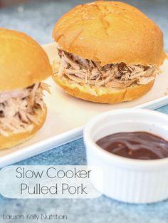 Slow Cooker Pulled Pork | Lauren Kelly Nutrition