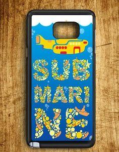 Yellow Submarine Samsung Galaxy Note Edge Case