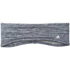 adidas Powder Headband (Ice Blue/Tech Ink/Heather Grey) Knit Hats ($18) ❤ liked on Polyvore featuring accessories, hair accessories, head wrap headbands, adidas headbands, blue headband, knit headband and headband hair accessories