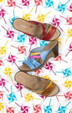 Moshulu sandals - Chervil!