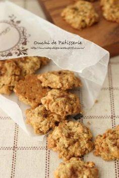 「黒糖オートミールクッキー」ぶうちゃん | お菓子・パンのレシピや作り方【cotta*コッタ】