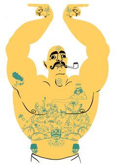 CHRIS MARTIN DRAWS  #illustration #art