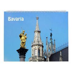 12 month Bavaria Photo Calendar