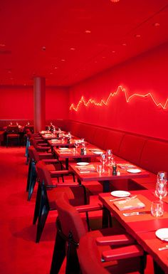 Zurich's storied Dolder Grand hotel boasts an art collection befitting of a heavy-hitting gallery. The latest addition to owner Urs Schwarzenbach's enviable collection is a new restaurant by the Swiss artist Rolf Sachs. Inside the freshly minted Sa. Basement Studio, Business Pictures, Cool Restaurant, Wallpaper Magazine, Travel Wallpaper, Restaurant Interior Design, Great Hotel, Bars For Home, Deli