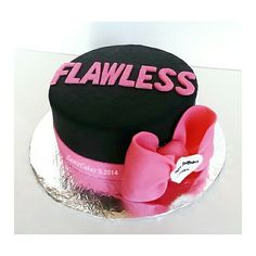 Beyonce Flawless Cake