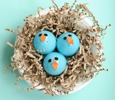 Turn plastic eggs into baby birds with this adorable spring craft idea! We just saw baby birds in our backyard, so I bet the kids would love making this!