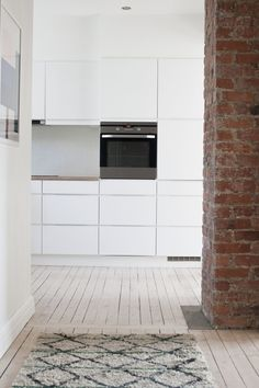 Hviitblogg.no, That wall! Garage Doors, Interior, Outdoor Decor, Wall, Kitchen, Home Decor, Style, Swag, Cooking