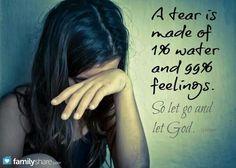Shed so many tears...