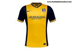 Atletico Madrid 13/14 Nike Away Football Shirt
