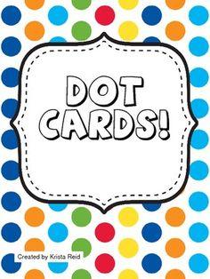 Dot Cards Freebie!