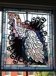 Peacock Mixed Media Art