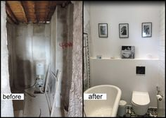 Before & After - Vintage Hotel Bathroom Design #interiors #elenaarsenoglou #beyonddecoration #vintage #hotel #bathroom #syros www.elenaarsenoglou.com