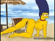 Den Simpsons tecknade porr serier