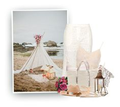"""""""Boho Beach Date"""" by hollowpoint-smile ❤ liked on Polyvore featuring Zimmermann, Theodora Warre, Solid & Striped, Vanessa Bruno, Elements, Ancient Greek Sandals, Filù Hats and Isabel Marant"""