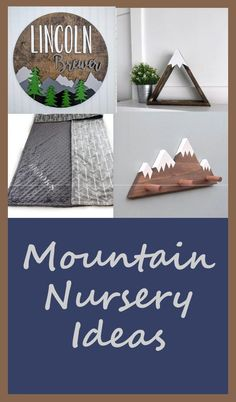 Mountain Nursery - adventure nursery theme - baby boy - arrow - great handmade nursery ideas #etsy #babyboy