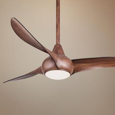 "52"" Minka Aire Light Wave Distressed Koa Ceiling Fan - #4N706 