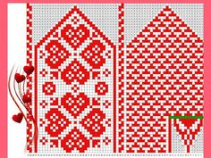 VK is the largest European social network with more than 100 million active users. Crochet Mittens Free Pattern, Knit Mittens, Crochet Chart, Knitted Gloves, Knitting Socks, Knit Crochet, Knitting Charts, Knitting Patterns, Fair Isle Knitting