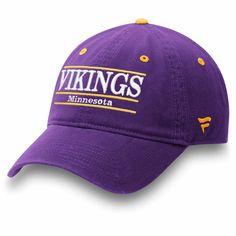 8e887e3c Men's Minnesota Vikings NFL Pro Line by Fanatics Branded Purple Primary Bar Adjustable  Hat, $21.99