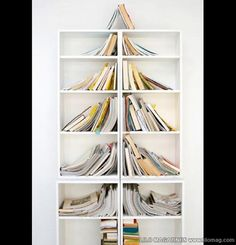 must do on office bookshelves...books make a christmas tree! <3