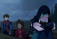 If you loved Avatar: The Last Airbender, I'm pretty sure you'll love Netflix's new show: The Dragon Prince. While scrolling through, The Dragon Prince popped up Rayla Dragon Prince, Prince Dragon, Cartoon Cartoon, Rayla X Callum, Snow Elf, Young Prince, Samurai Jack, Character Development, New Shows