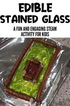 Are you looking for a fun STEAM activity for kids? This edible stained glass STEAM project is perfect for kids of all ages! Adult supervision required. Teach your kids about geometry, art history, science, and more as they make their own homemade stained glass out of melted hard candy. Steam Activities, Hands On Activities, Renaissance And Reformation, Activity Toys, Glass Candy, Hard Candy, Work From Home Moms, Geometry Art, Kids And Parenting